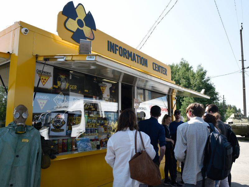 Ukraina Černobylio zonoje kurs žaliąjį koridorių turistams