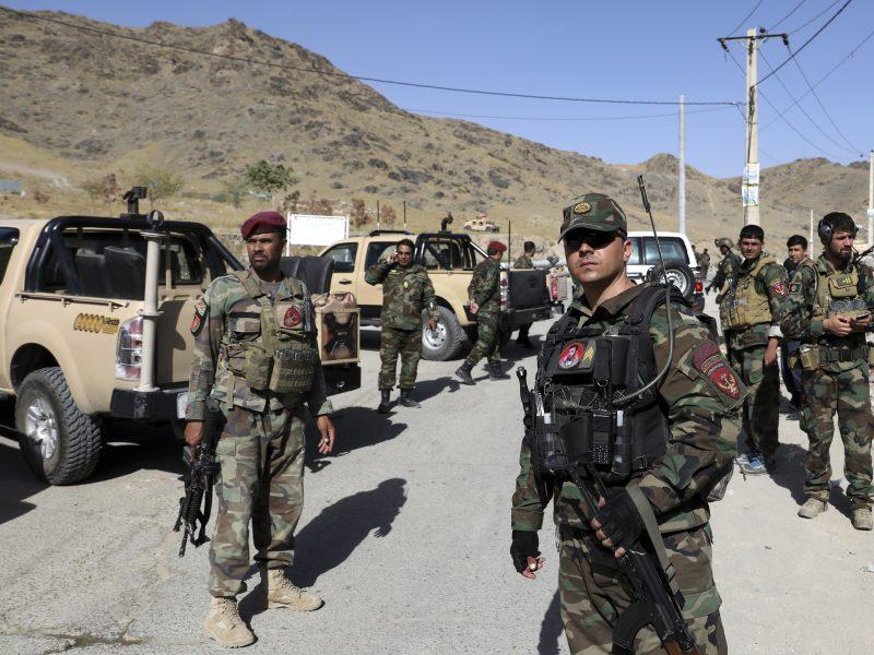 Afganistane nukautas vienas iš IS grupuotės šalyje lyderių