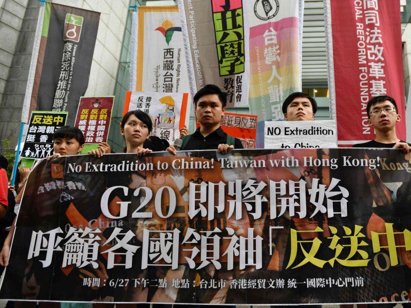 Protestai Honkonge: aktyvistai nori būti išgirsti G-20 viršūnių susitikime