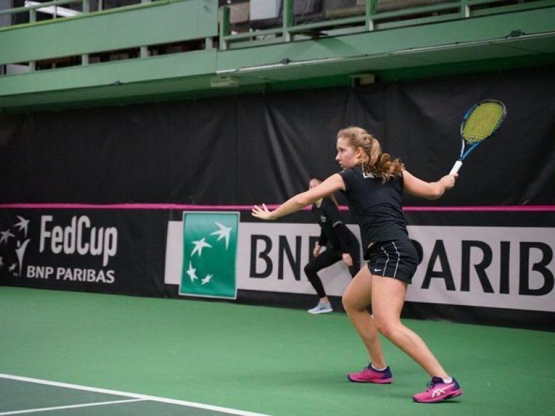 Tenisininkė I. Daujotaitė Sakartvele iškovojo pirmąjį WTA reitingo tašką