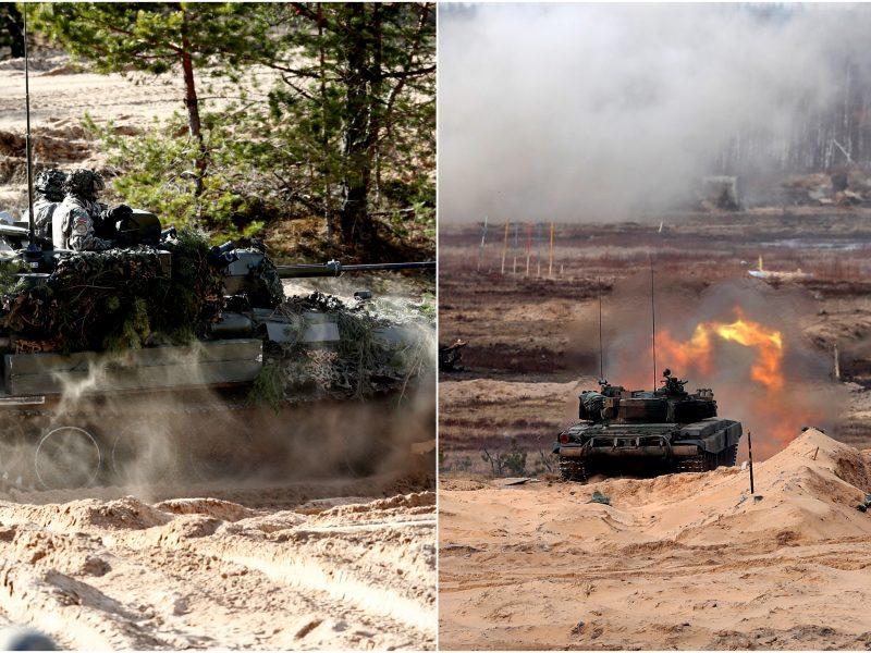 Latvijoje prasideda tarptautinės karinės pratybos: dalyvaus ir lietuviai