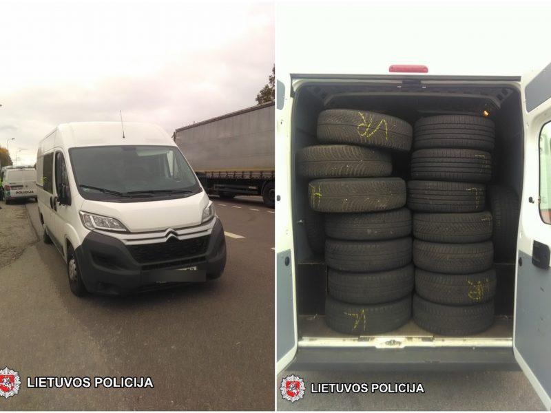 Sulaikytas automobilio vagyste įtariamas vyras: apsimetė nesuprantantis lietuviškai
