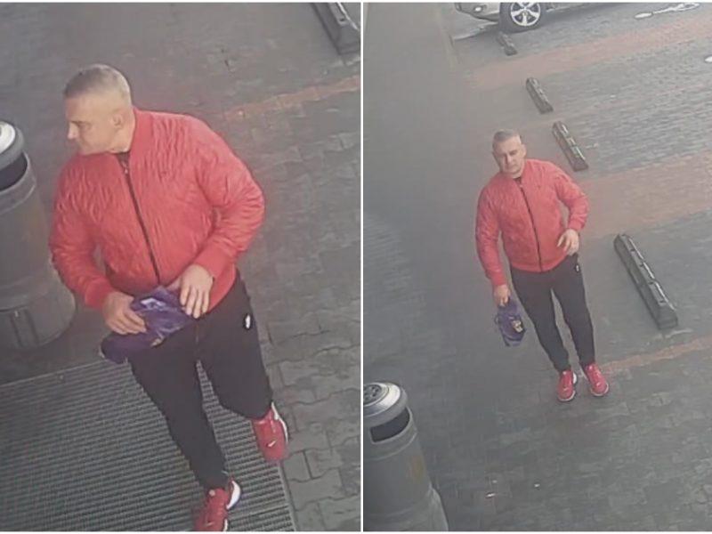 Šiaulių policija ieško vyro, galimai pavogusio dviratį <span style=color:red;>(gal atpažįstate?)</span>