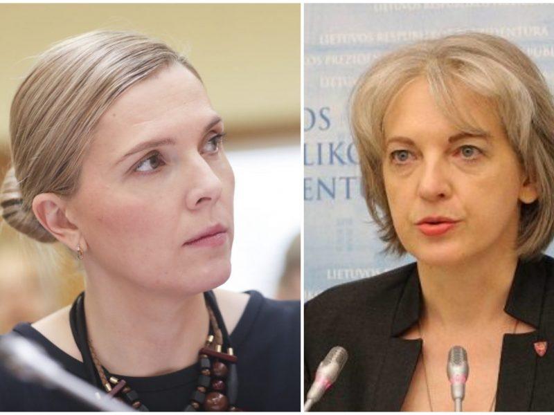 A. Bilotaitė sukritikavo prezidento patarėją: panašu, šlovėje nori pasišildyti ir kitos institucijos