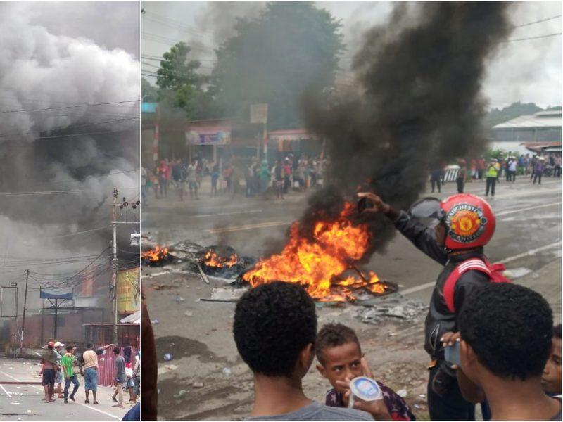 Indonezijoje vykstant masinėms protesto akcijoms, iš kalėjimo pabėgo 258 kaliniai