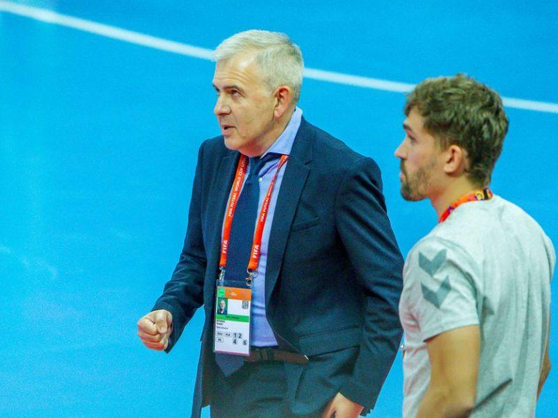 J. Ryvkinas: manau, kad šis čempionatas padės Lietuvos salės futbolui žengti į priekį ir tobulėti
