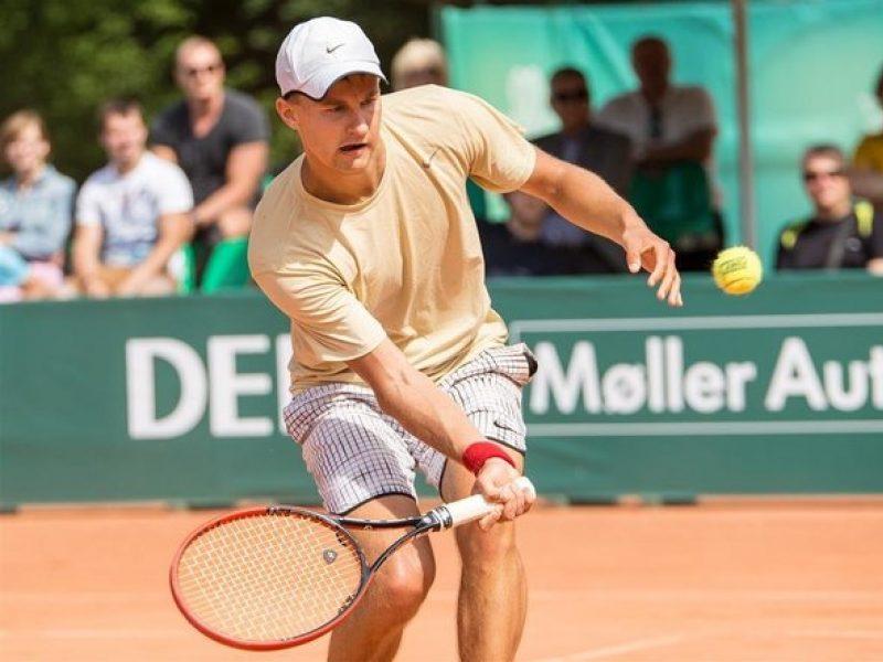 Tenisininkas J. Tverijonas Portugalijoje pralaimėjo aštuntfinalyje