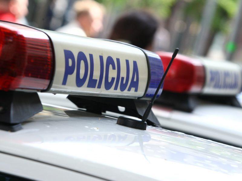Skaudi avarija Utenoje: žuvo vairuotojas