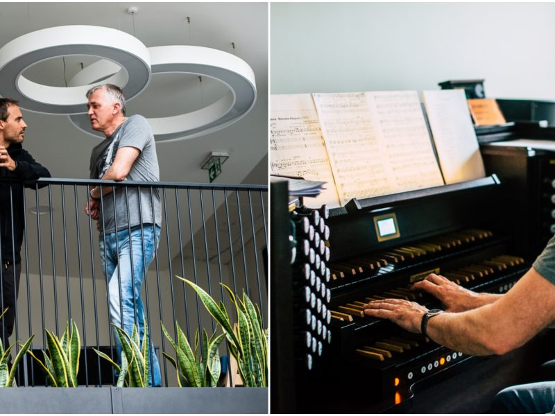 "Festivalis ""Midsummer Vilnius"": tobulo ""Queen"" muzikos ir vargonų skambesio paieškos"