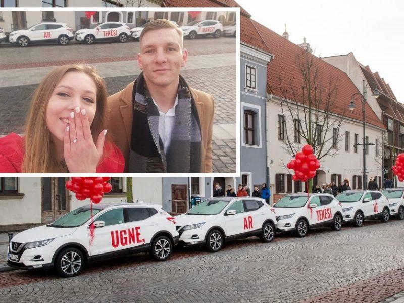 """Valentino dienos proga – žadą atimančios piršlybos: Ugnė pasakė """"taip""""!"""