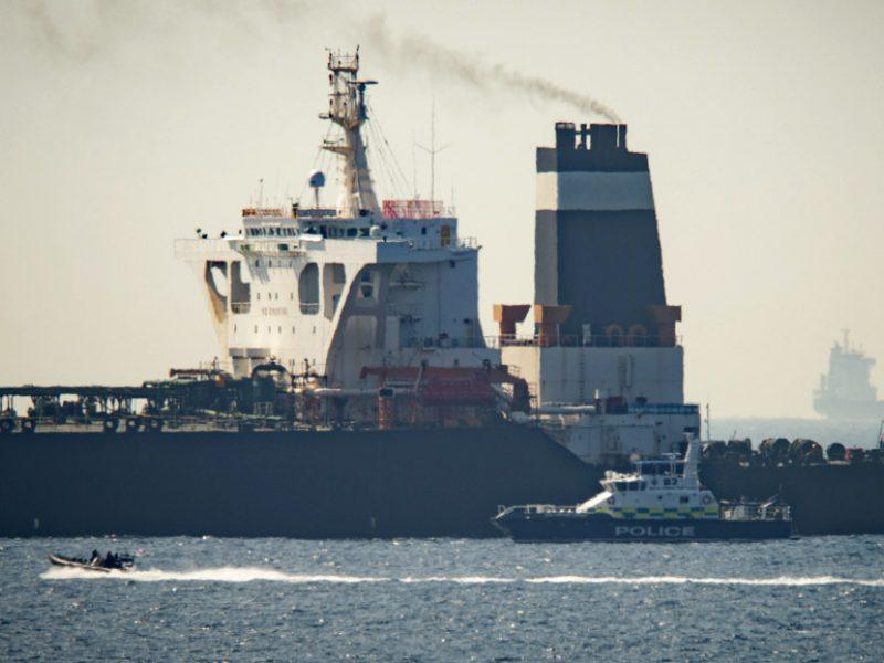 Iranas reikalauja Britanijos paleisti Gibraltare sulaikytą tanklaivį