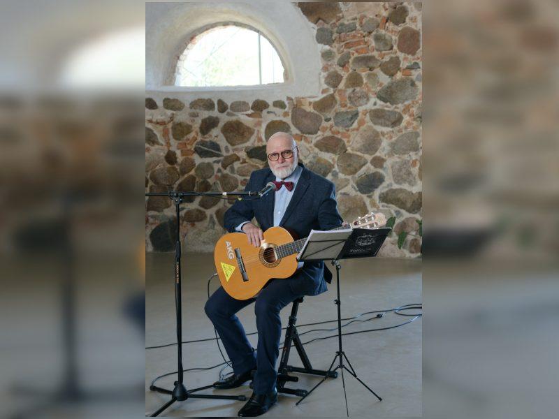 V. Bagdonas Jonavoje surengs autorinį koncertą: pasiilgau klausytojų