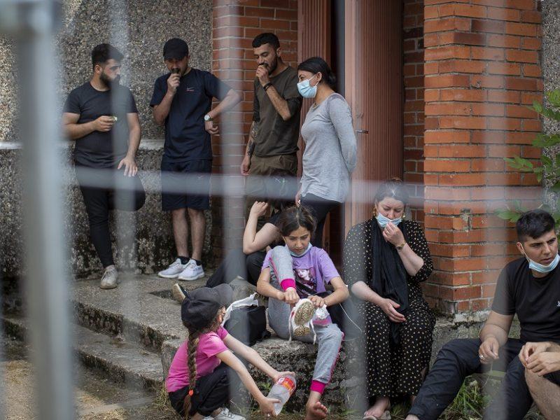 M. Navickienė: nelegalius migrantus į Naujininkus pradėsime perkėlinėti jau kitą savaitę