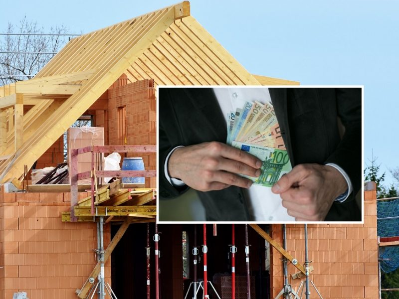 Vilniuje namus renovavusios įmonės vadovas kaltinamas nuslėpęs daugiau nei 91 tūkst. eurų PVM