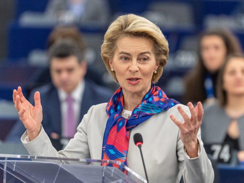 Europos Komisija pristatė trilijono eurų vertės žaliųjų investicijų planą