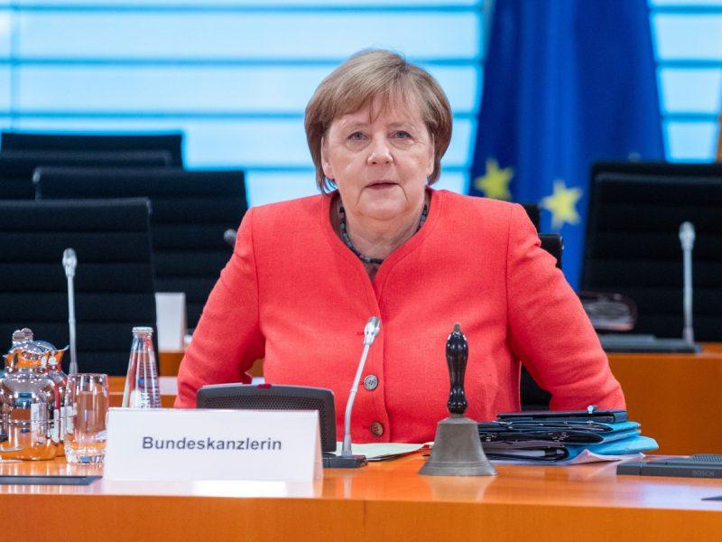 """A. Merkel: ES turi pasiruošti galimybei, kad """"Brexito"""" susitarimas nebus pasiektas"""