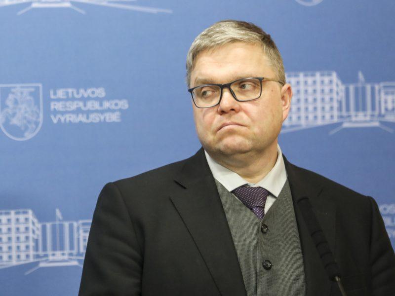 V. Vasiliauskas: yra tikrai nemenka rizika, kad biudžeto deficitas didės