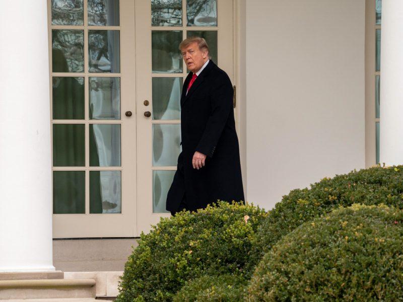 """Nutekintame pokalbyje D. Trumpas spaudė Džordžijos valstijos pareigūną """"rasti"""" rinkėjų balsų už jį"""