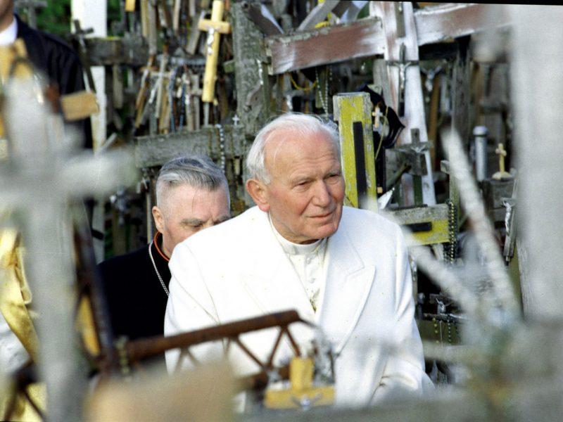 Muzikos ir poezijos vakare – šimtųjų Jono Pauliaus II gimimo metinių minėjimas