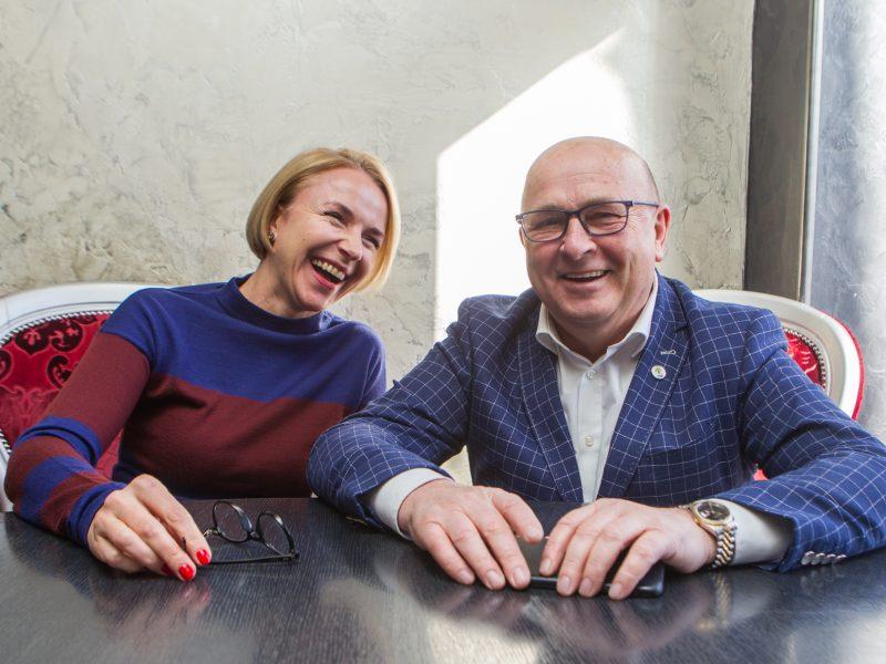 Kauno miesto meras artimos moters akimis