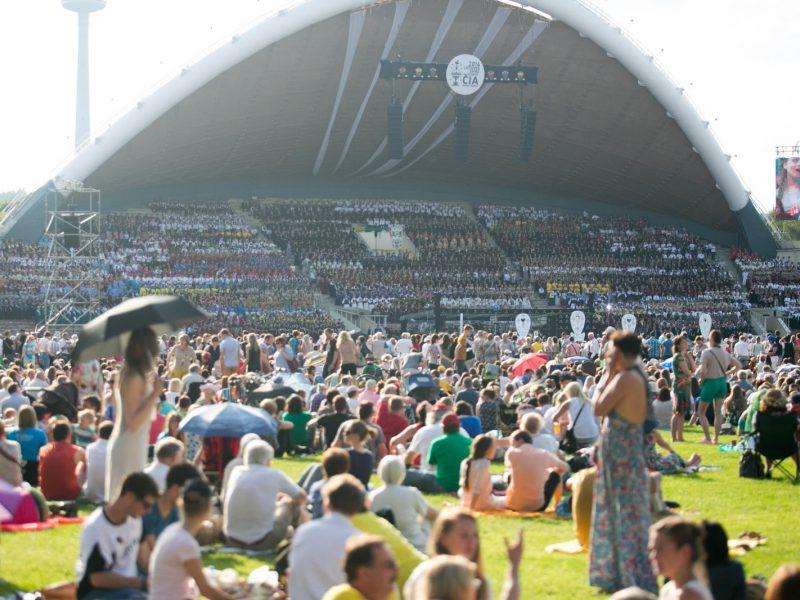 Vilniuje prasideda Dainų šventė
