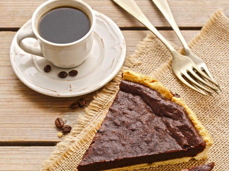 Šokoladinis pyragas su kokosu