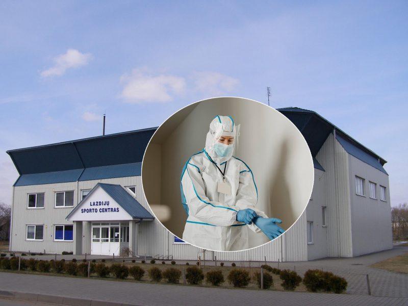 Koronaviruso protrūkis Lazdijų sporto centre atskleidė galimai neteisėtą veiklą