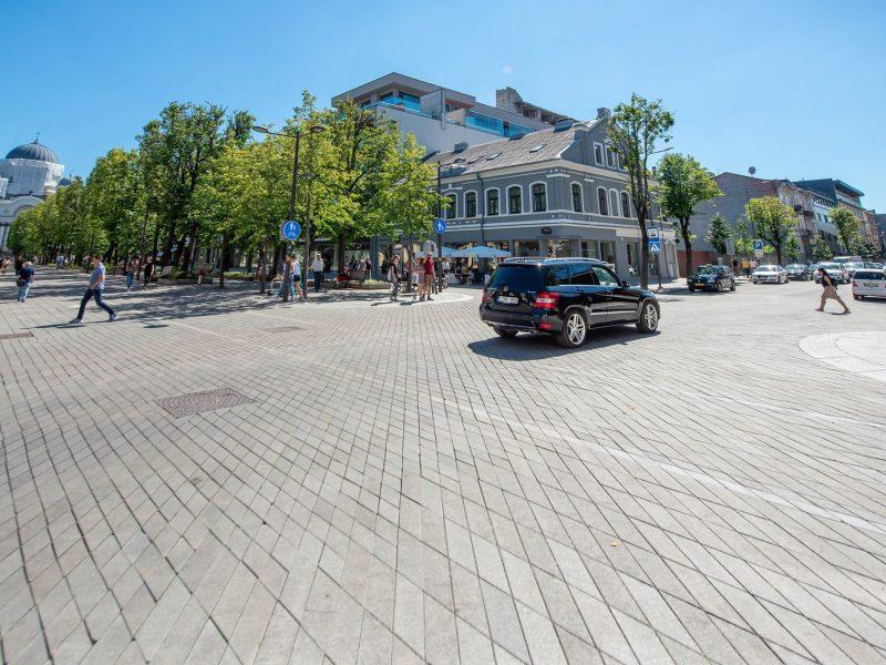 Tvarkys Laisvės alėjos grindinį: A. Mickevičiaus gatvė taps nepravažiuojama
