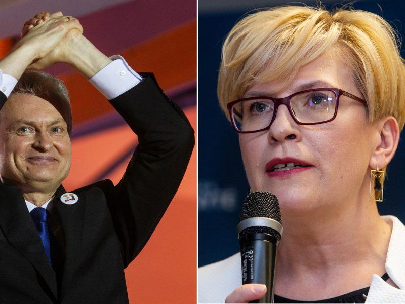 Abejonių nelieka: prezidento rinkimuose pergalę švenčia G. Nausėda!