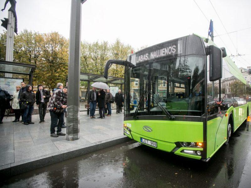 Kaip kauniečiai vertina atsinaujinantį viešąjį transportą?