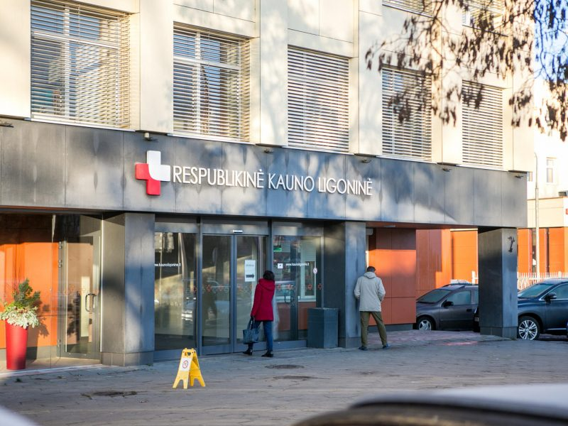 Koronavirusas – ir Respublikinės Kauno ligoninės pacientei: tai nėra geras ženklas