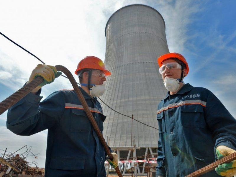 Į Astravo AE atgabentas kuras antrajam reaktoriui