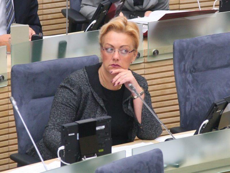 NSGK formuluos parlamentinio tyrimo dėl I. Rozovos kryptis