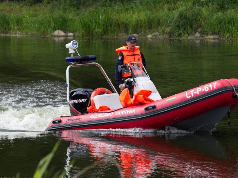 Iš upės Tauragės rajone ištrauktas vyro lavonas