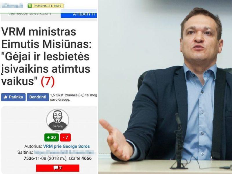 Melagingas pranešimas apie ministrą atėmė žadą: kreipsimės į teisėsaugą