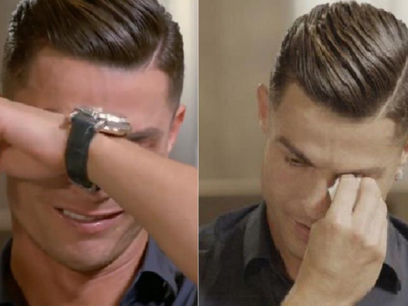 C. Ronaldo apsipylė ašaromis: tėvas nepamatė, ką pasiekiau