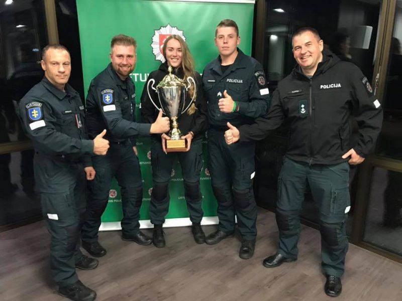 Geriausios Lietuvos policijos komandos konkursas