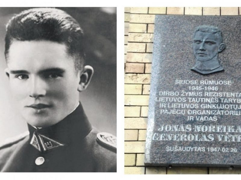 J. Noreikos-Generolo Vėtros šalininkai žada Vilniuje pakabinti naują atminimo lentą
