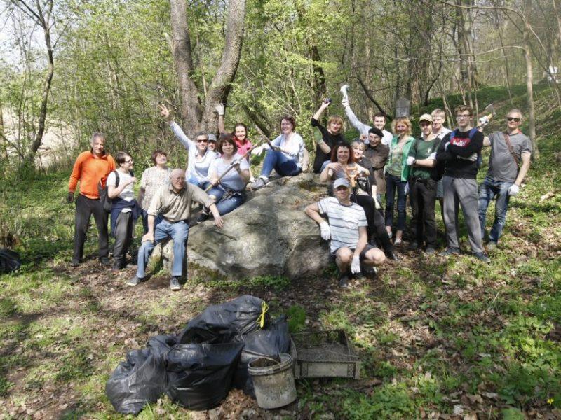 Gamtos mylėtojai švarino Klaipėdą – surinkta tonos atliekų