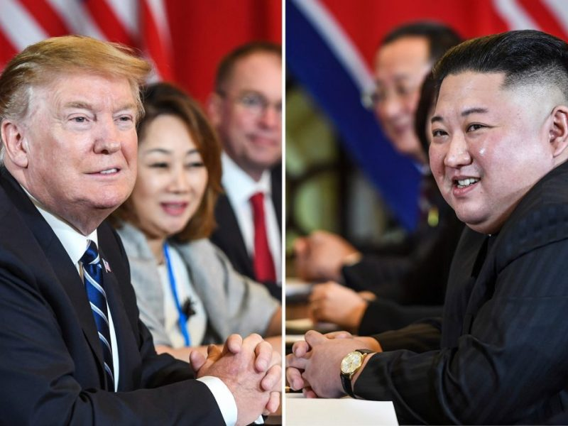 D. Trumpas užsiminė apie dar vieną susitikimą su Kim Jong Unu
