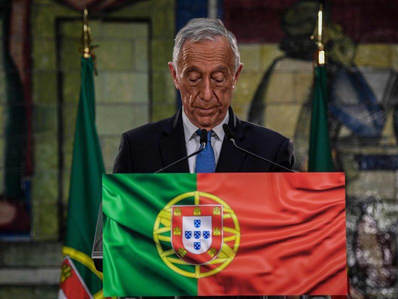 Negalutiniai rezultatai: Portugalija perrinko prezidentą M. Rebelo de Sousą