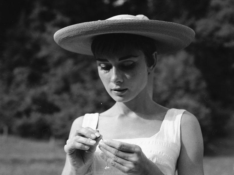 A. Hepburn šiapus didžiojo ekrano: mama didele širdimi