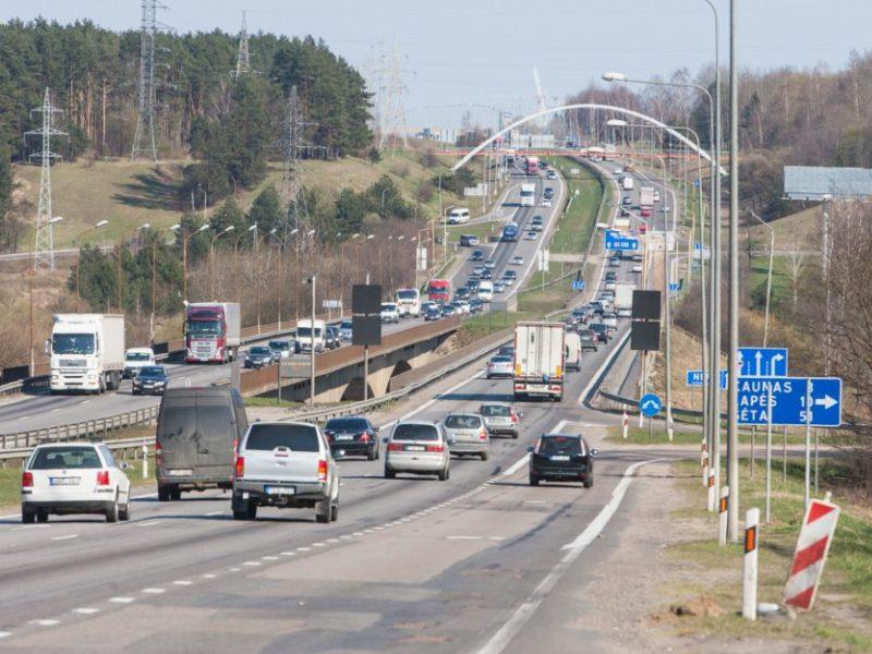 Naujas etapas rekonstruojant magistralę – bus statomas tiltas per Nerį