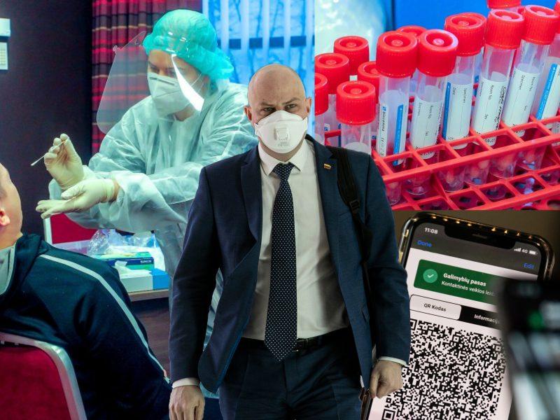 A. Veryga apie pandemijos valdymą: prievartinės priemonės skatina nepasitikėjimą vakcinomis