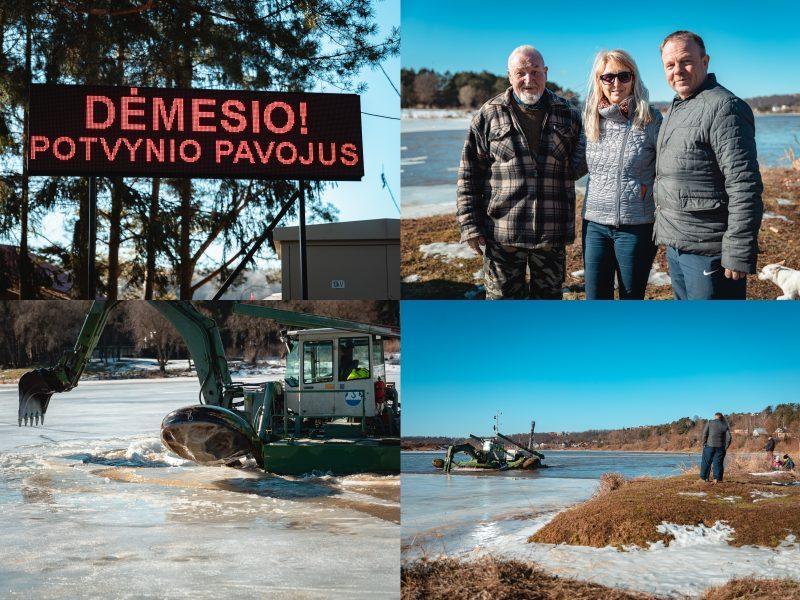 Fotoreportažas iš Radikių: ar gyventojai ruošiasi potvyniui?