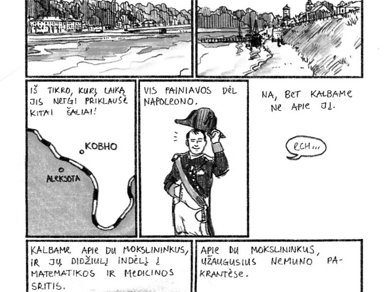 Pamirštų kauniečių atminimą atgaivino komikse