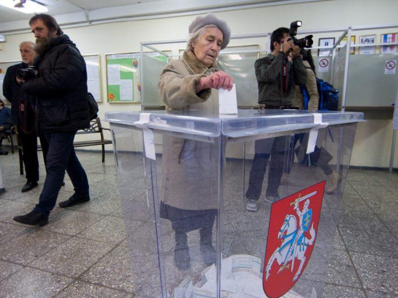 Lietuva renka, kas pateks į Seimą: rinkėjų aktyvumas