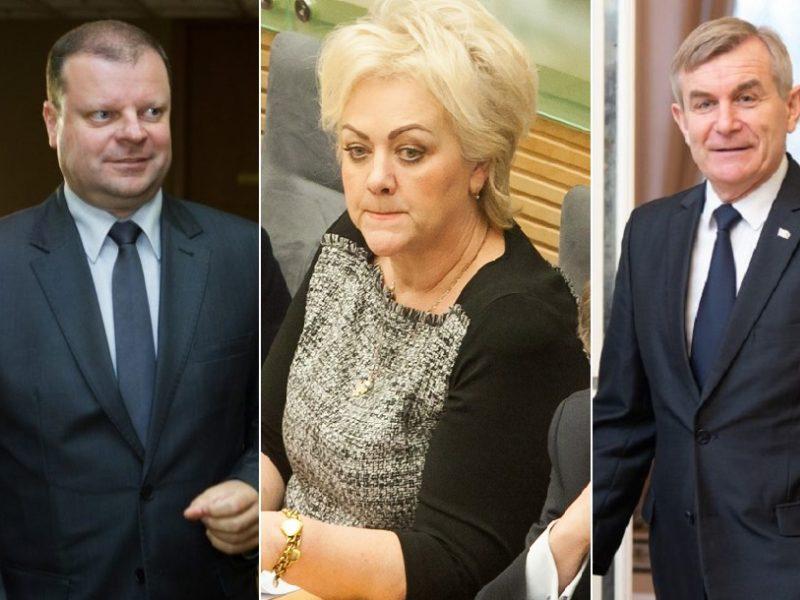 Premjeras: V. Pranckietis su VSD informacija dėl I. Rozovos elgėsi pagal įstatymus