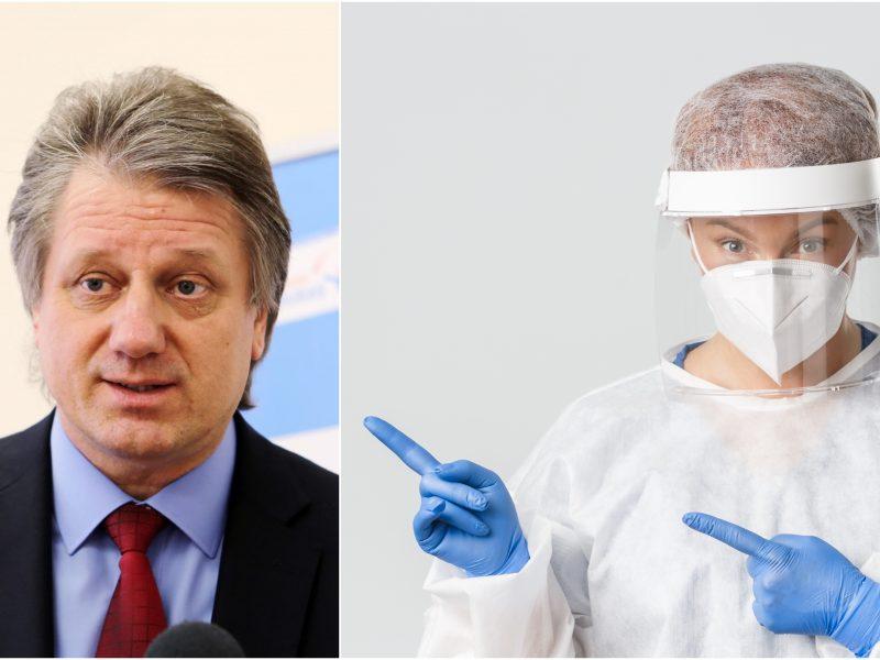 S. Čaplinskas: dėl kovos su COVID-19 patys perdeginame sveikatos sistemą