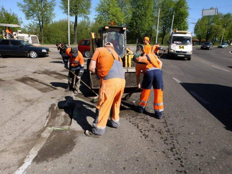 Kaunas gatvių remontui per trejus metus galės išleisti iki 164 mln. eurų